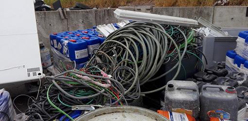 Collecte/transport de déchets